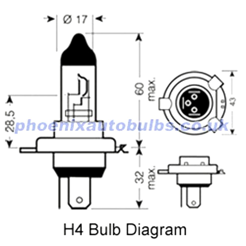 H4 Halogen Headlight Wiring Diagram - Wiring Diagram Rows on old car diagrams, headlight relay wiring diagrams, halogen light wiring, bi-xenon bulbs diagrams, halogen vs standard car,