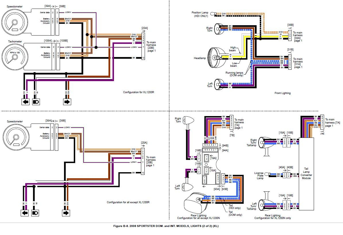 hight resolution of 1997 harley fxst wiring diagram