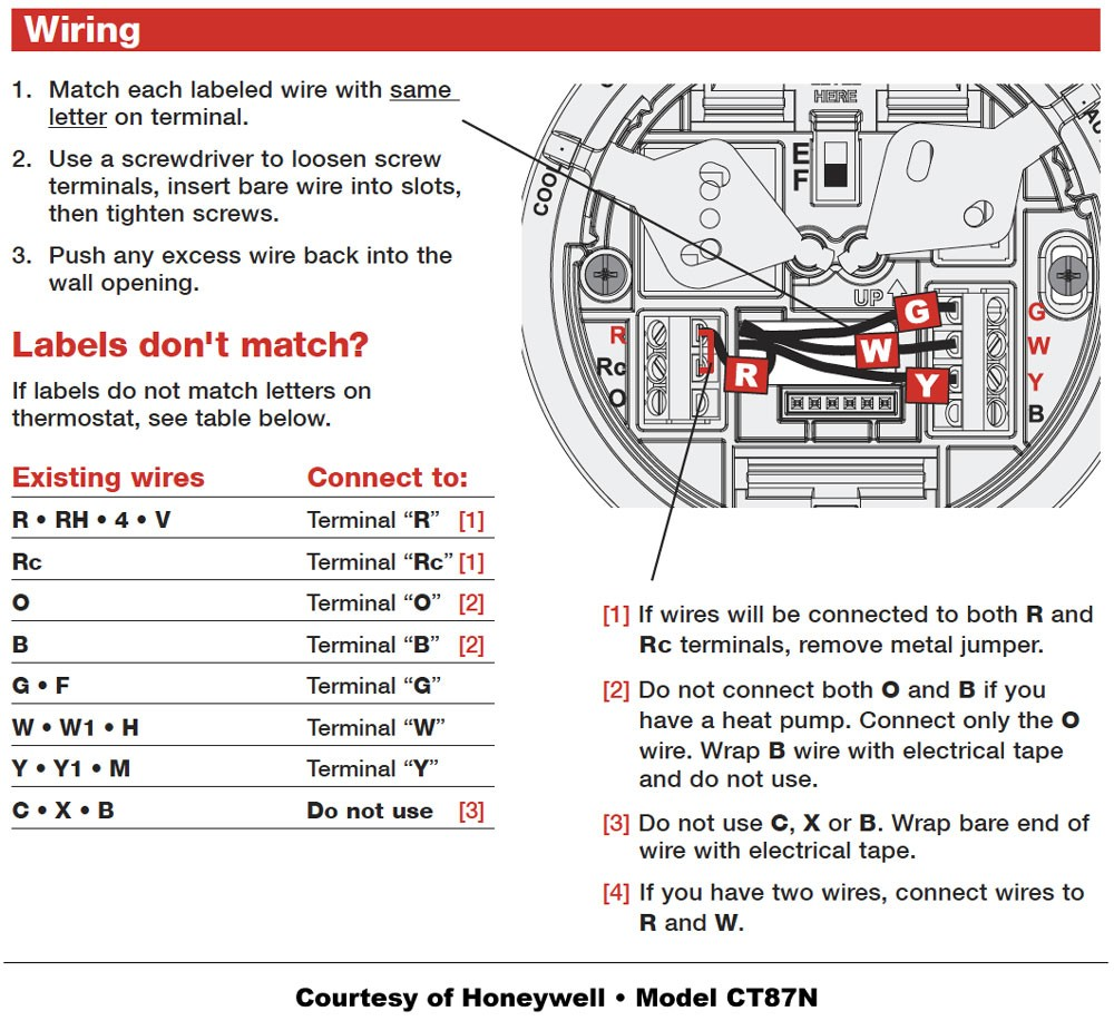 medium resolution of honeywell mercury thermostat wiring