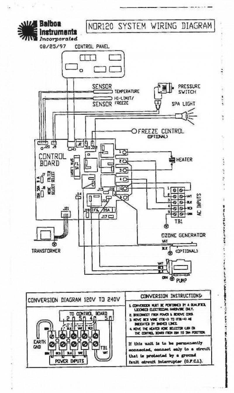 Spa Circuit Board Wiring Diagram Free Picture | Wiring Diagram on
