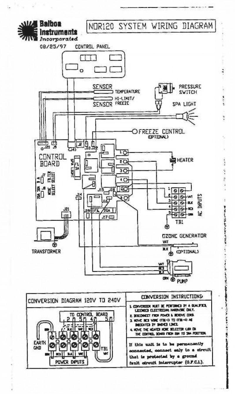 Jacuzzi Hot Tub Wiring Diagram   Wiring Diagram on