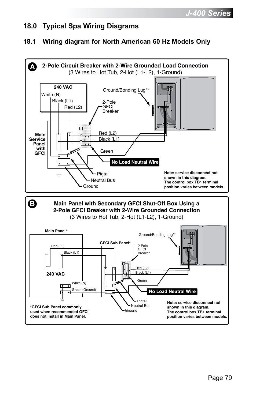 Watkins Hot Tub Wiring - General Wiring Diagrams on