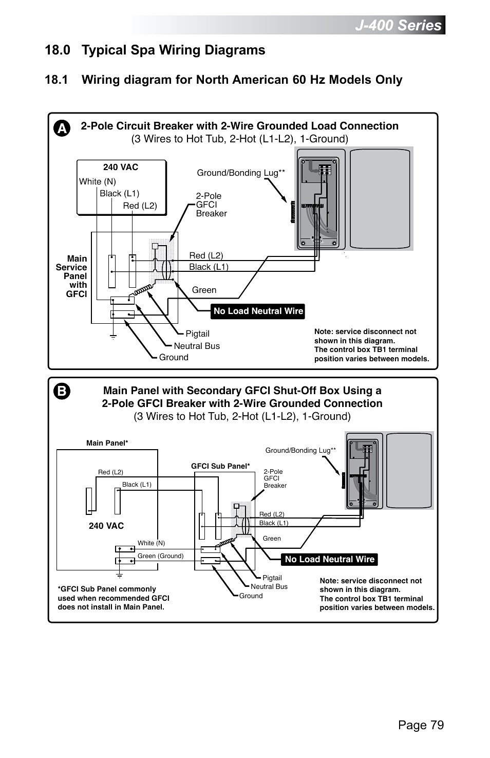 Morgan Spa Wiring Diagram