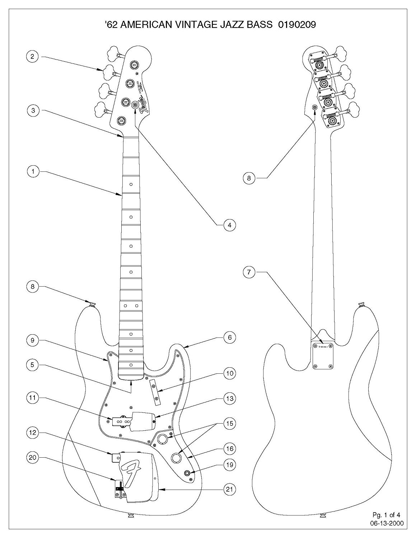 62 Jazz Bass Wiring Diagram