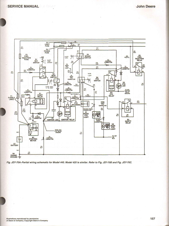 john deere sabre 1438gs wiring diagram pollak 6 port fuel selector valve schematic 133 model l110