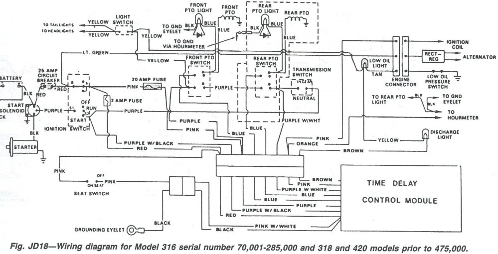 medium resolution of john deere 4600 wiring diagram wiring diagram used john deere 4600 tractor wiring diagram