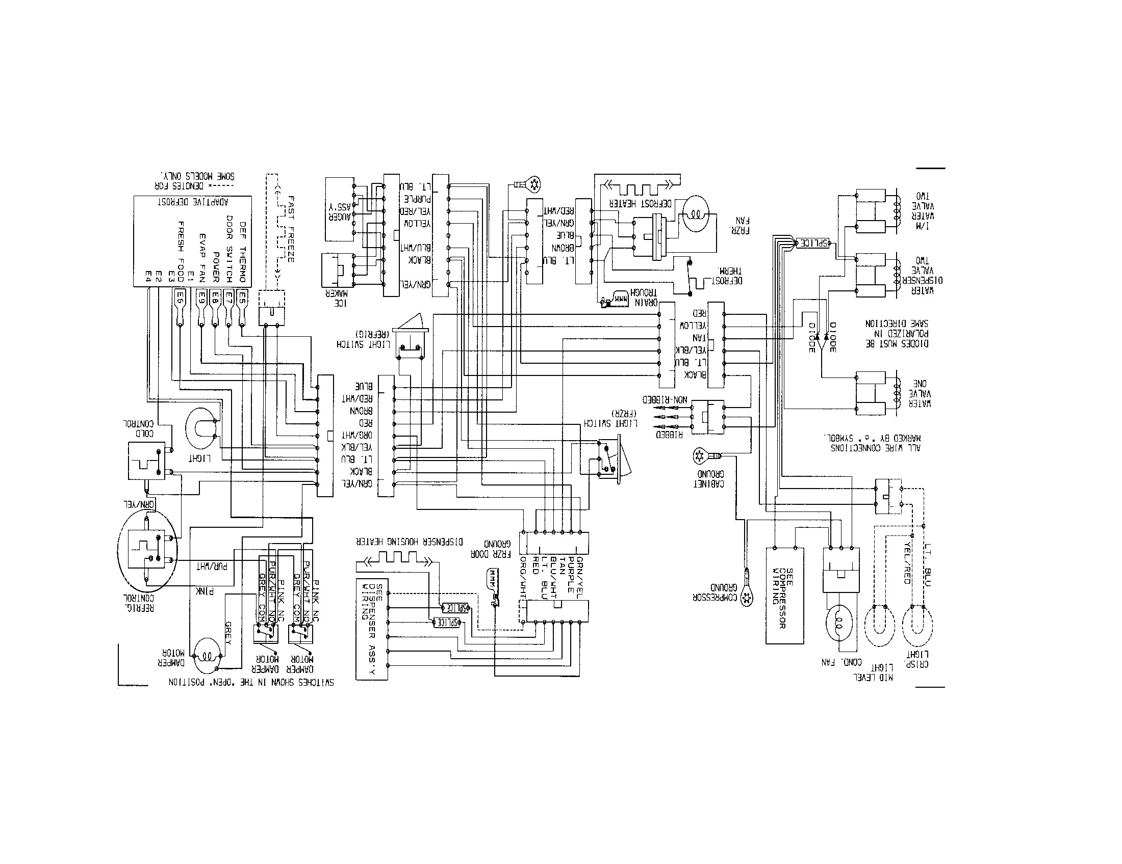w140 relay diagrams