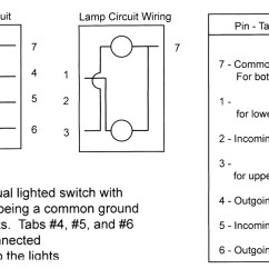 Spst Lighted Rocker Switch Wiring Diagram Evinrude Outboard Ignition 120v New | Image
