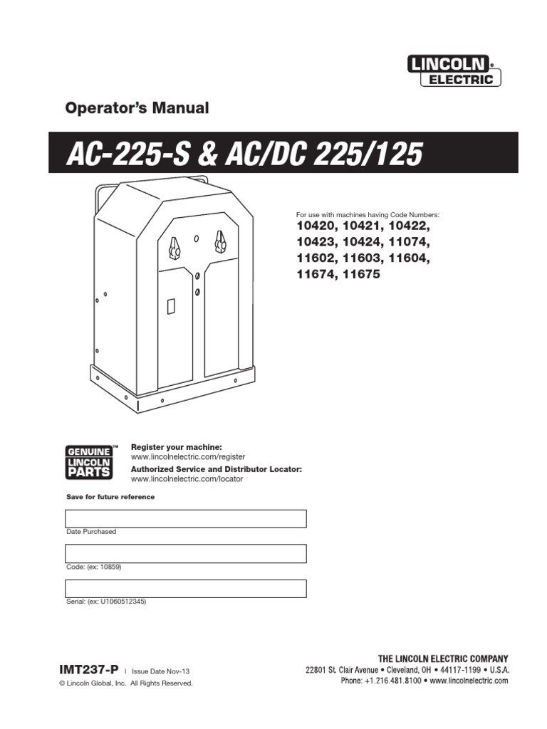 medium resolution of wrg 2570 stick welder wiring diagramlincoln ac 225 arc welder manual 574aad1cb6d87f6d218b4d04