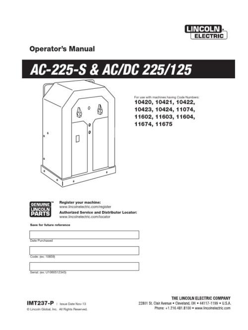 small resolution of wrg 2570 stick welder wiring diagramlincoln ac 225 arc welder manual 574aad1cb6d87f6d218b4d04