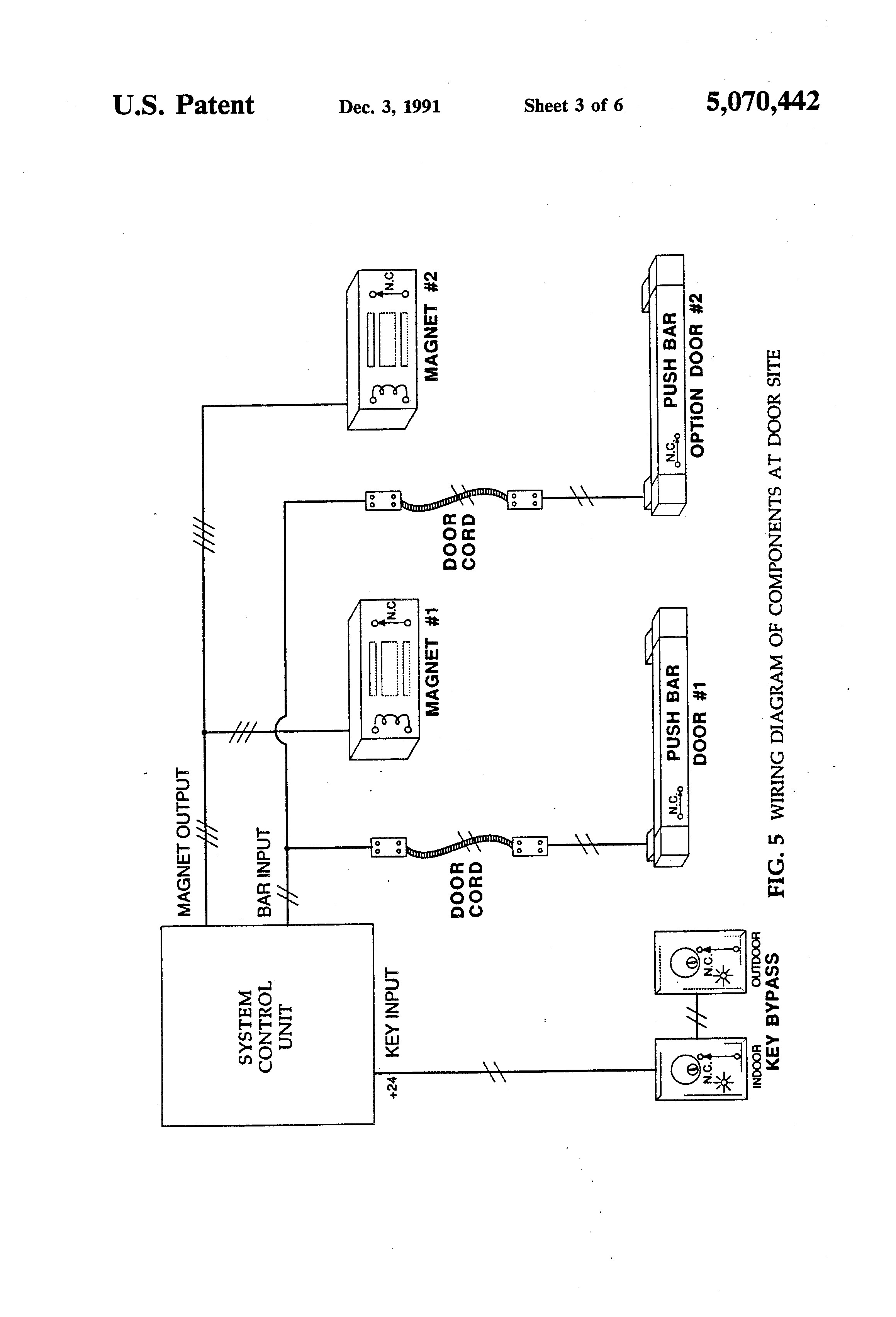 electric door strike wiring diagram leviton 3 way rotary dimmer murphy maglock and cs single magnetic lock kit for