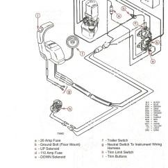 Mercury Wiring Diagram Monaco Rv Parts Online Teleflex Trim For Outboard Librarymercruiser Solenoid Electrical Diagrams Mercruiser
