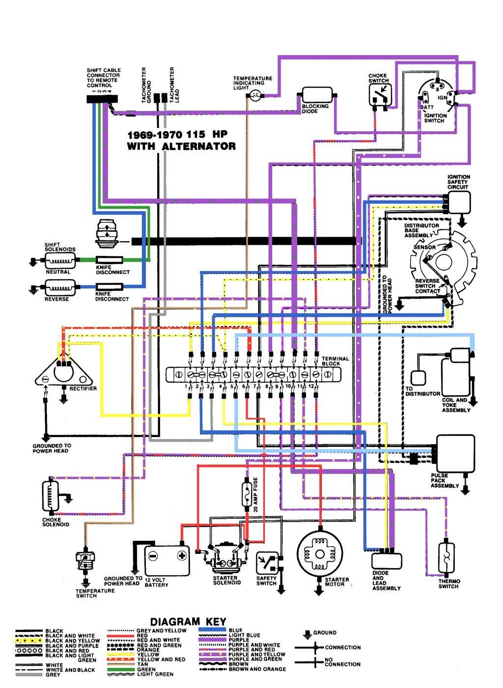mercury ignition switch diagram jeep jk trailer wiring marine elegant