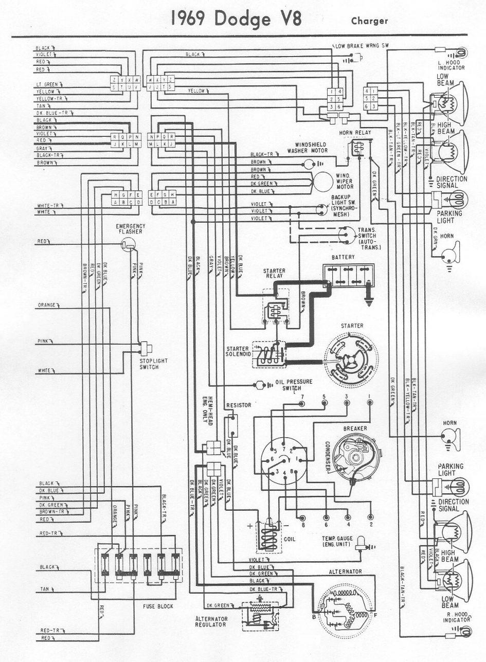 1970 Dodge 300 Truck Wiring