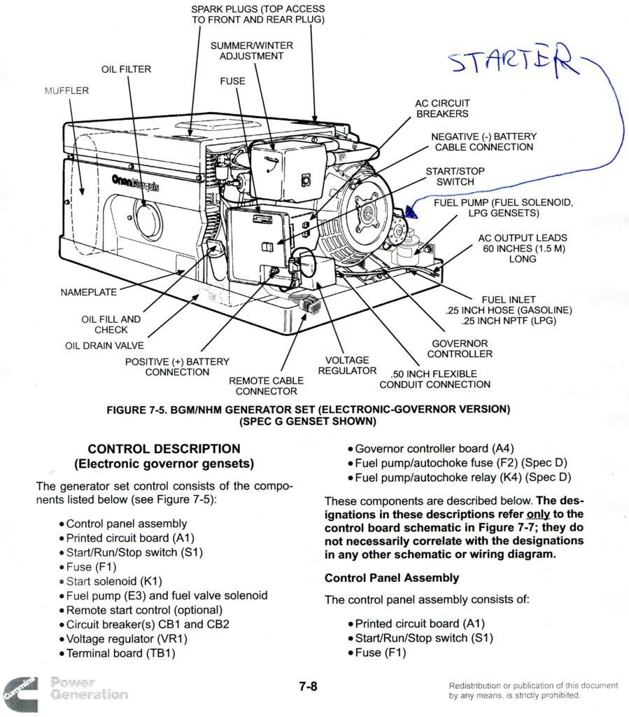 hight resolution of onan 4000 generator on motorhome onan 4000 generator wiring diagram onan 4000 wiring diagram 611