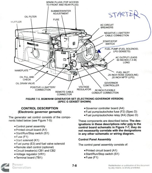 small resolution of onan 4000 generator on motorhome onan 4000 generator wiring diagram onan 4000 wiring diagram 611