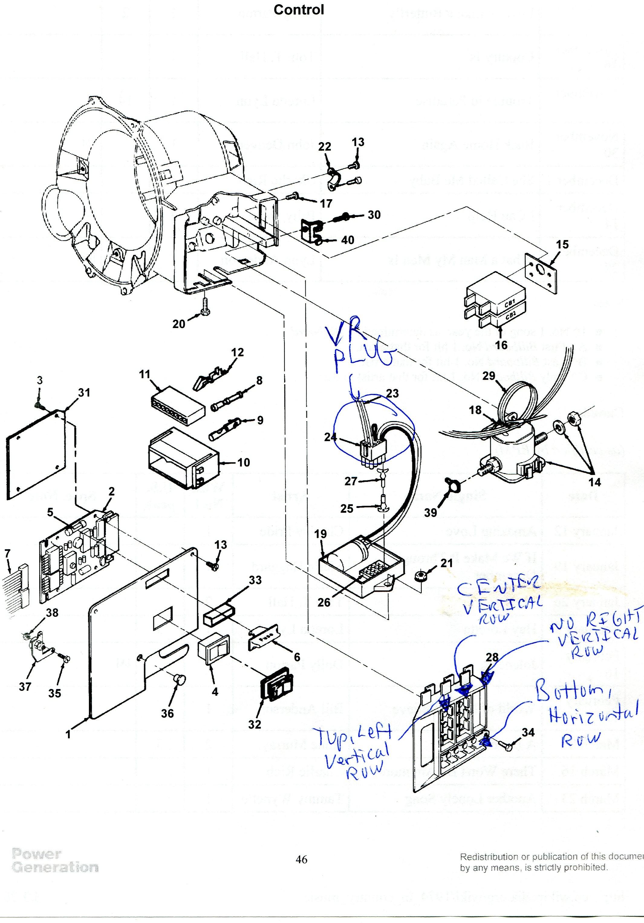 Onan Nhe Wiring Diagram   Machine Repair Manual Onan Nhe Generator Wiring Diagram on