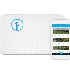 rachio smart sprinkler controller wifi 8 zone 2nd generation works with amazon alexa [ 2400 x 2400 Pixel ]