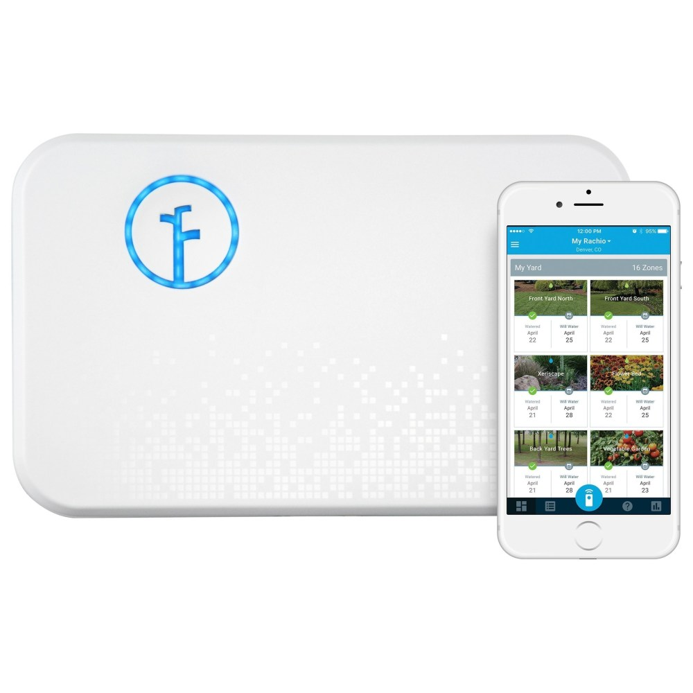 medium resolution of rachio smart sprinkler controller wifi 8 zone 2nd generation works with amazon alexa