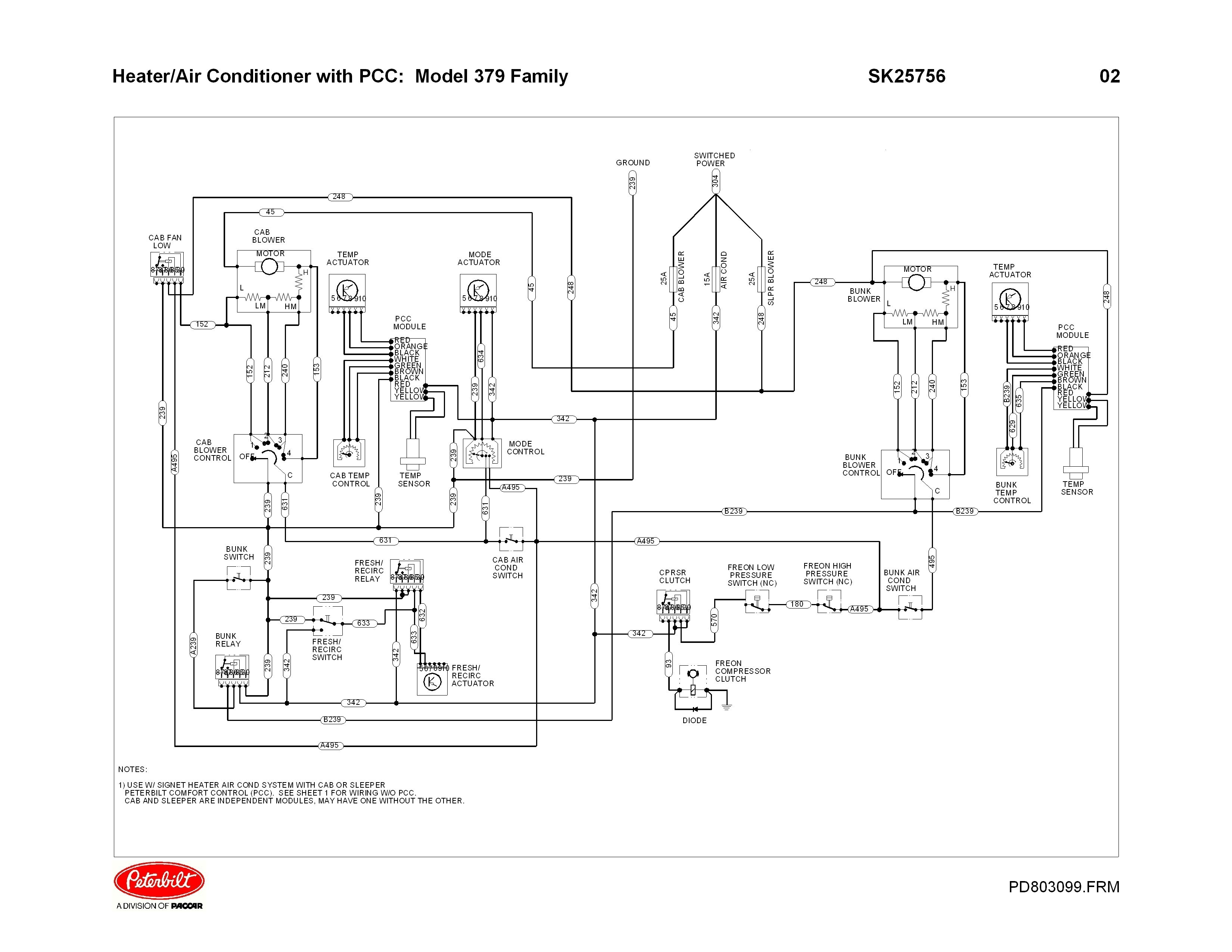Peterbilt Wiring Harness Diagram