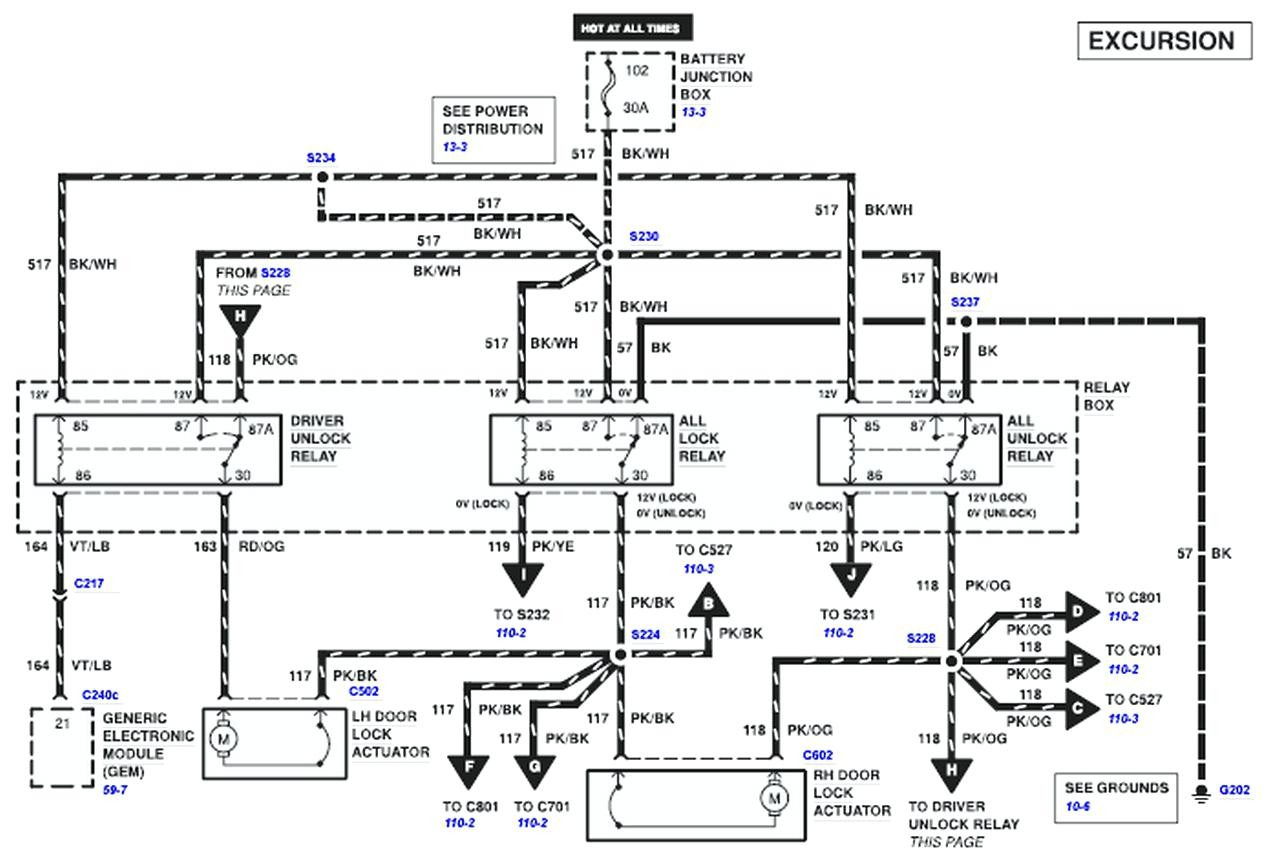 2000 ford explorer door diagram sentence diagramming adjectives power lock wiring image