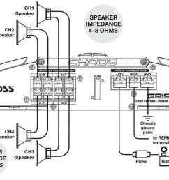 4 channel speaker wiring diagram epic 400 watts full range example boss plow wiring schematic at [ 1182 x 737 Pixel ]