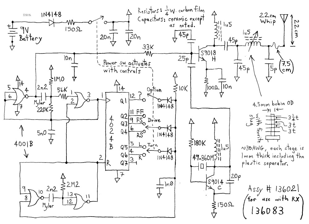 medium resolution of circuit board wiring diagram for rc wiring diagram experts jada rc car wiring diagram