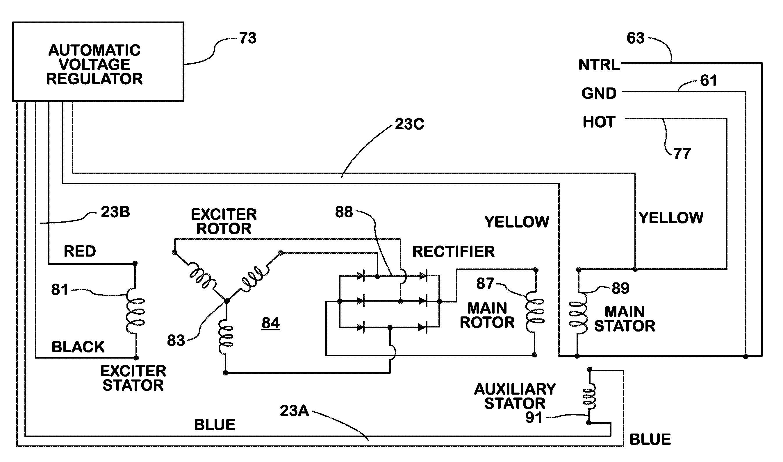 lucas alternator wiring diagram lithium ion cell rectifier regulator image