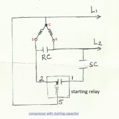 Refrigerator Start Relay Wiring Diagram For Whirlpool New