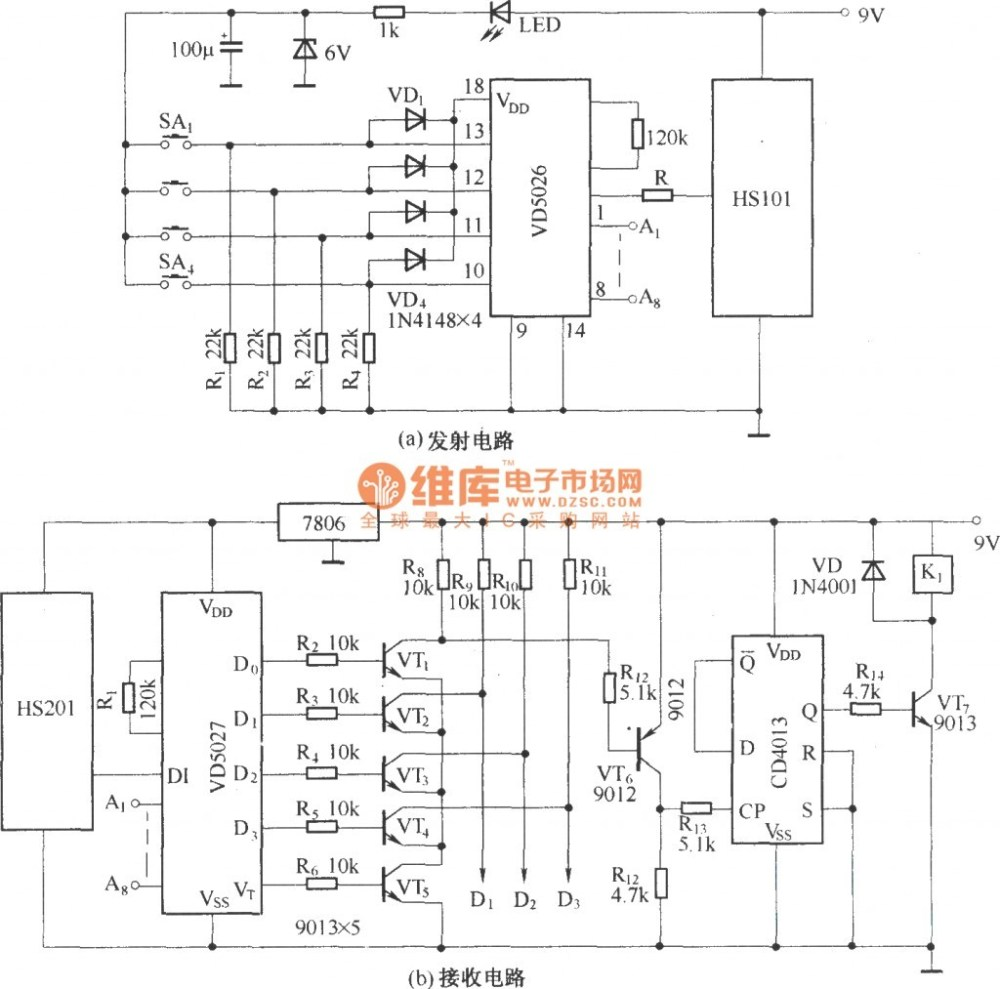 medium resolution of rc car circuit diagram posed hs101hs201 channels remote control switch incredible image