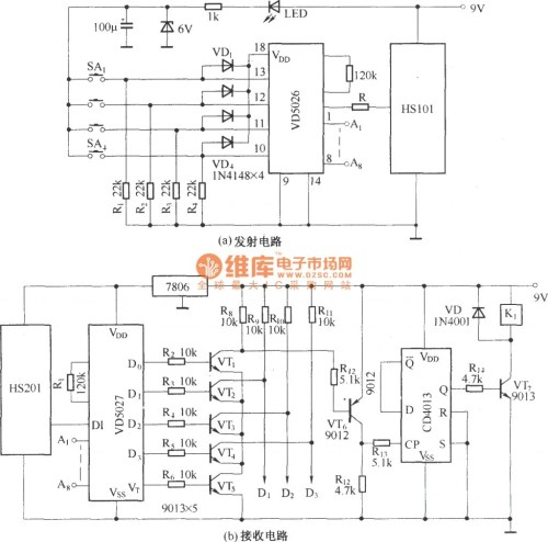 small resolution of rc car circuit diagram posed hs101hs201 channels remote control switch incredible image