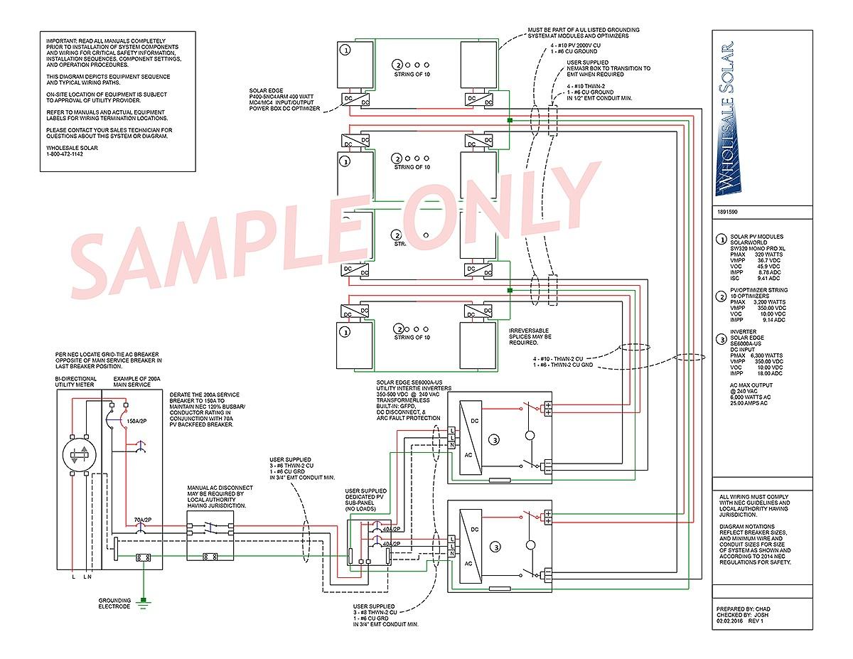 diy solar panel wiring diagram 2000 international 4900 rv image