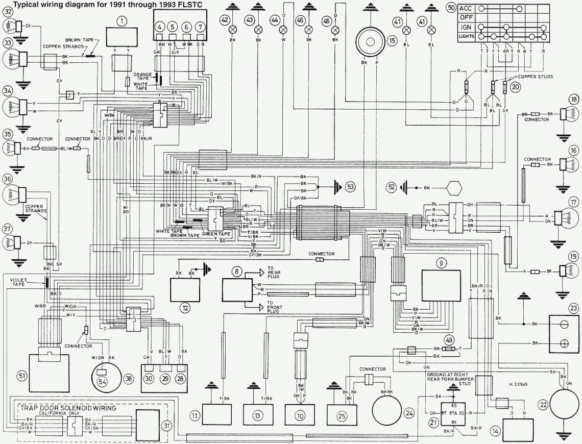 1985 harley davidson fxst wiring diagram image 4