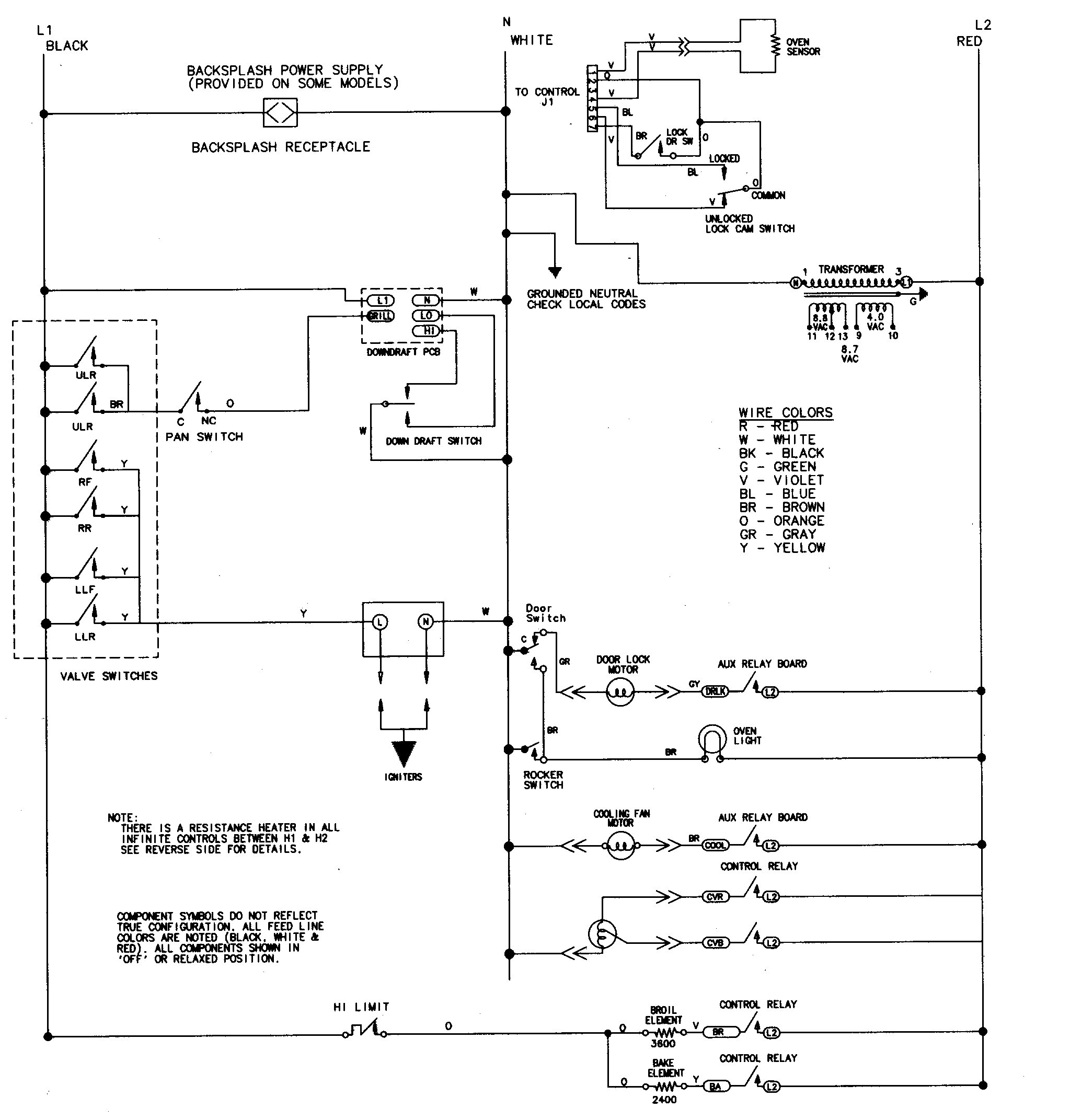 belling cooker wiring diagram er for library stove image