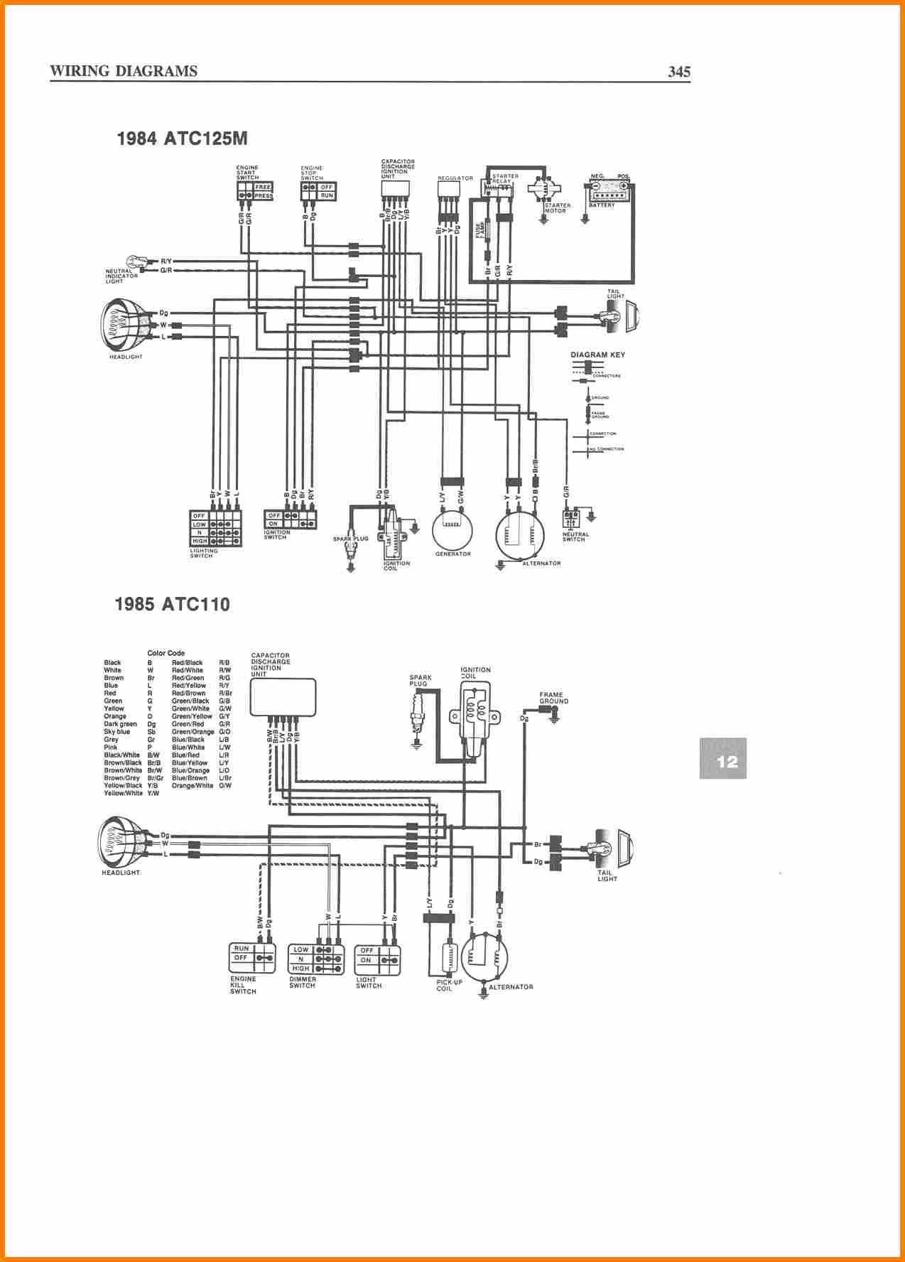 50cc atv wiring diagram