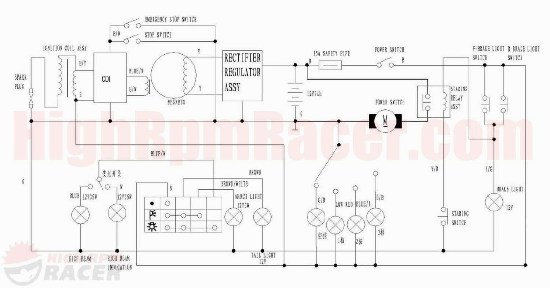 Tao Tao 110cc Atv Wiring Schematic