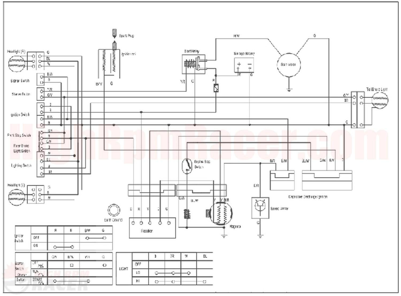 110cc atv engine diagram 110uaa wiring diagram Honda ATV Engine Diagram