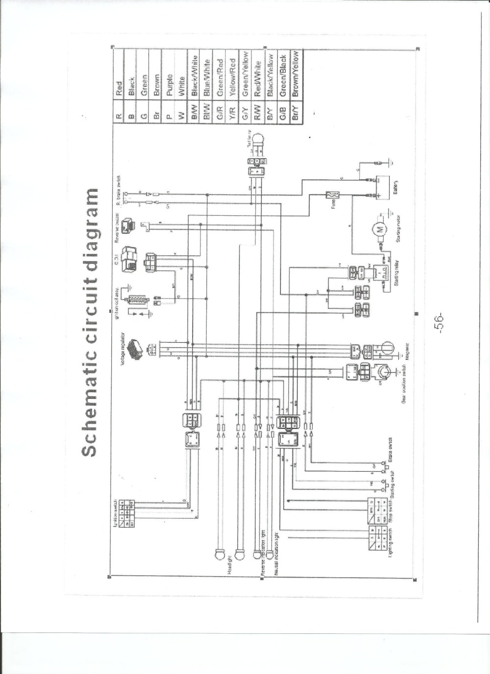medium resolution of tao tao 50cc moped wiring diagram example electrical wiring diagram u2022 jonway 50cc scooter wiring