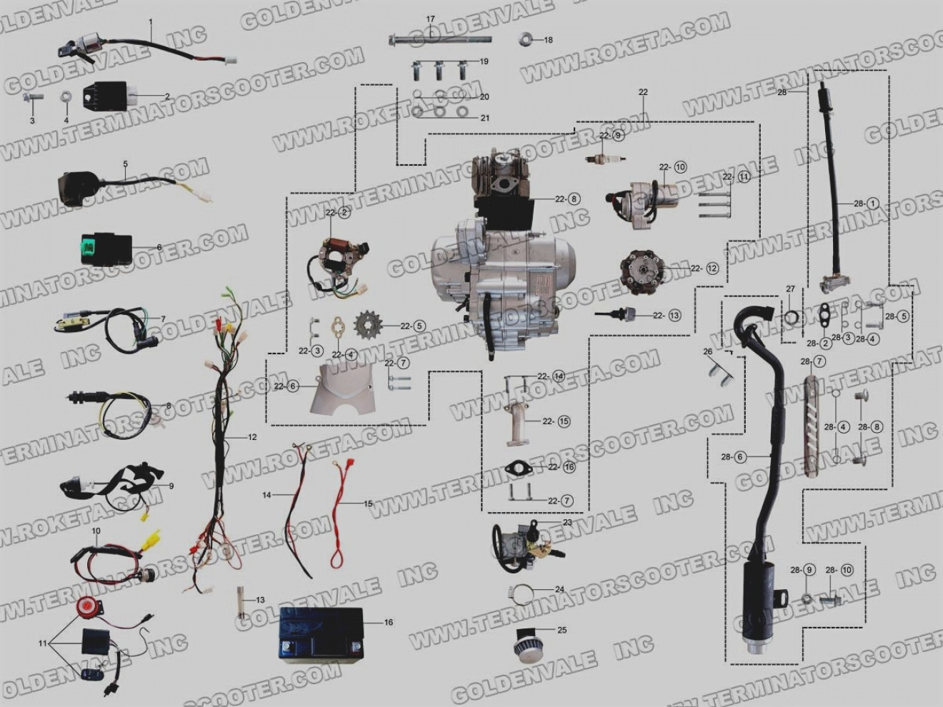 [DIAGRAM] 2010 Tao Tao 150 Atv Wire Diagram FULL Version
