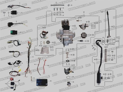small resolution of 50cc scooter wiring diagram roketa cm 16 50 wiring diagram newtaotao 50 wiring diagram wiring diagram