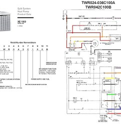 heat pump wiring diagram marvelous reference trane and pressor [ 1023 x 806 Pixel ]