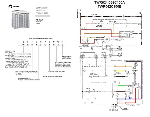 small resolution of heat pump wiring diagram marvelous reference trane and pressor