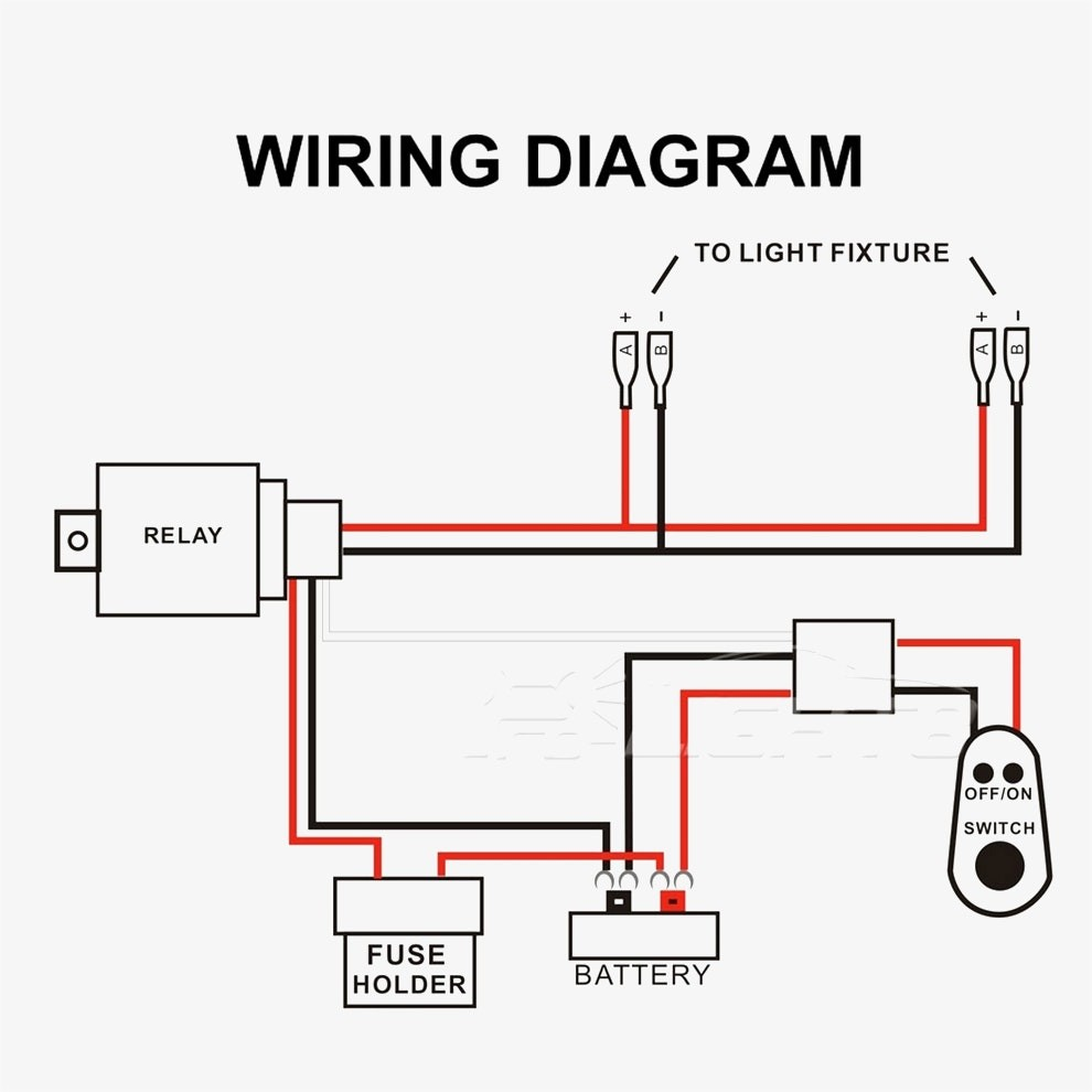 wiring diagram for led light bar without relay 1984 chevy truck headlight polaris rzr auto electrical ranger get free image about harness side by