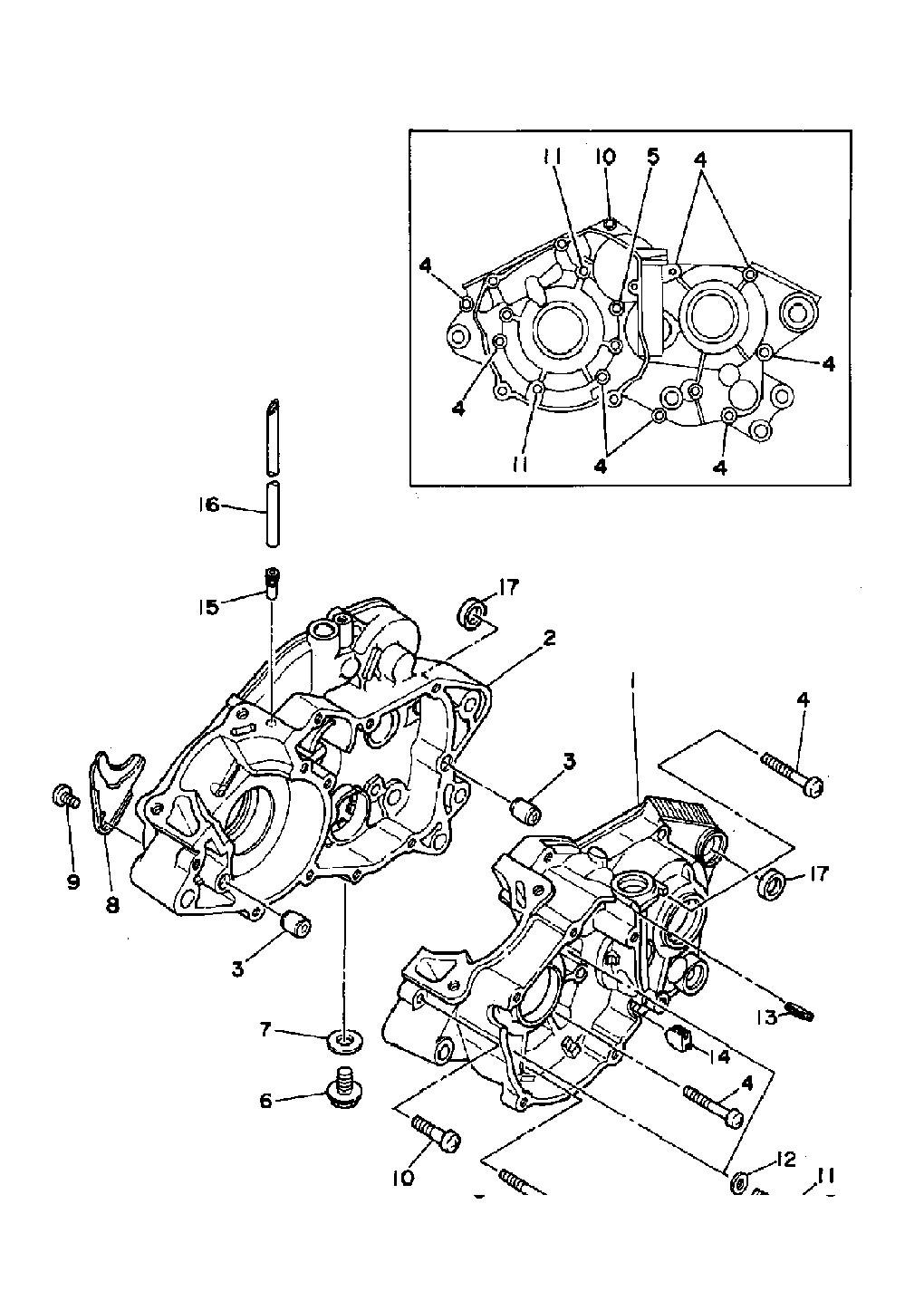 2001 Yamaha Blaster Engine Diagram Wiring Diagrams Schematics