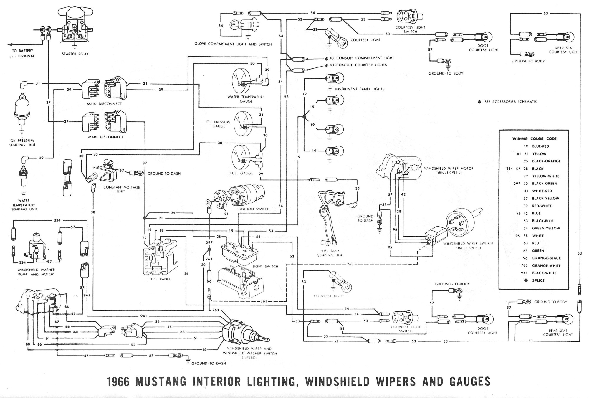 hight resolution of 96 mustang mach 460 wiring also 1972 corvette wiper wiring diagram 1966 mustang wiper pump diagram