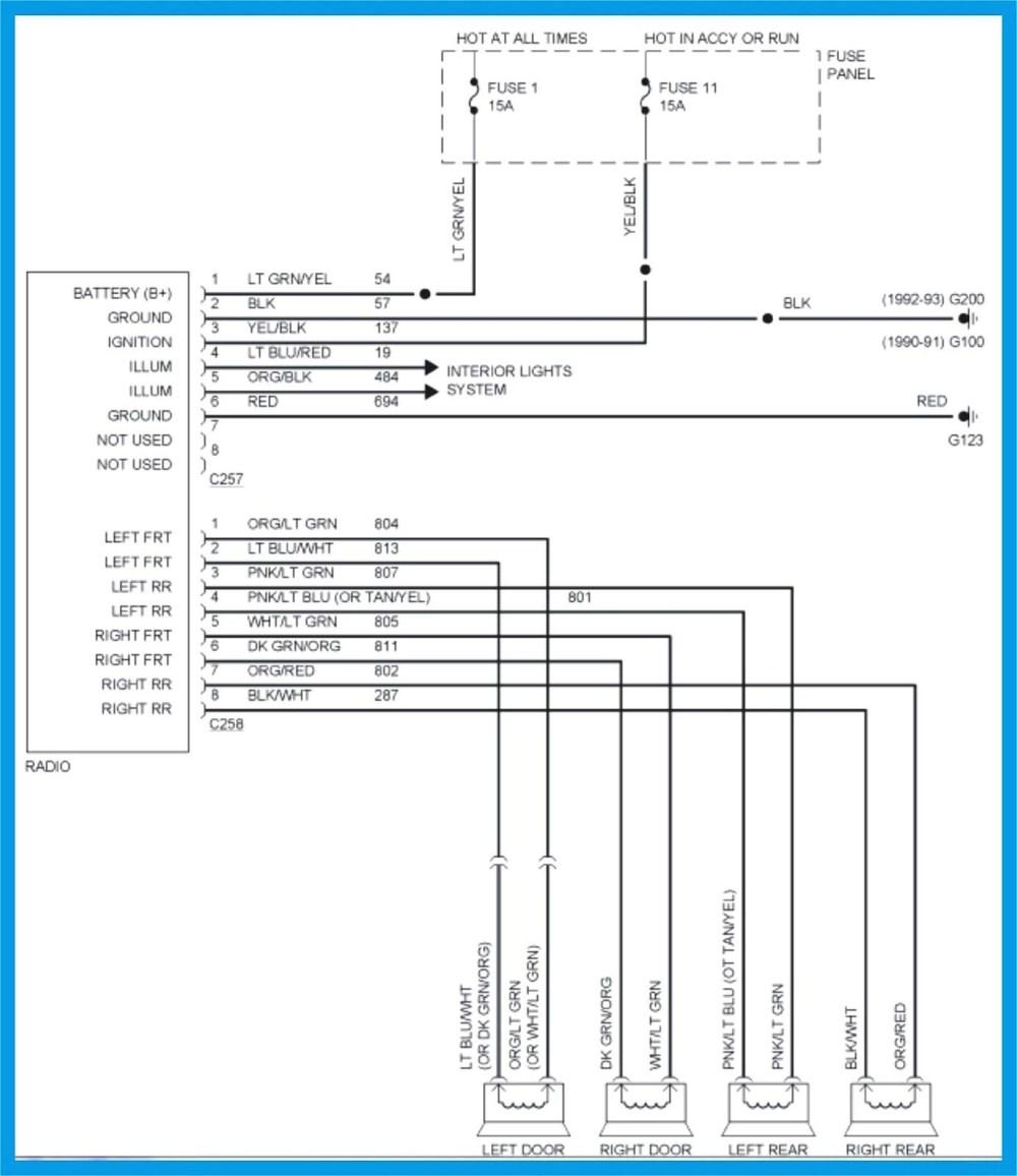 medium resolution of 1991 ford explorer stereo wiring diagram auto electrical wiring rh mit edu uk bitoku me 2005