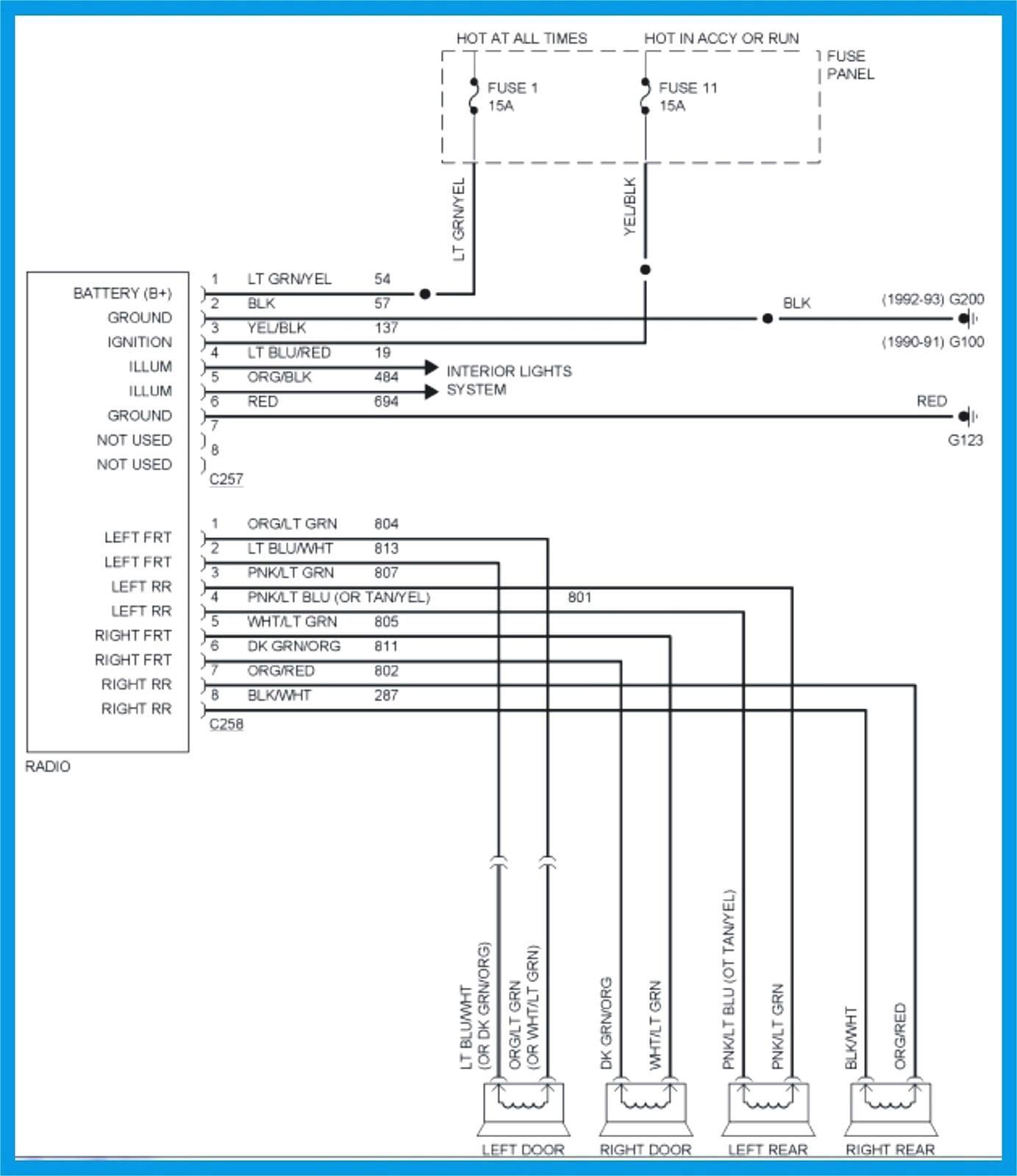 hight resolution of 1991 ford explorer stereo wiring diagram auto electrical wiring rh mit edu uk bitoku me 2005