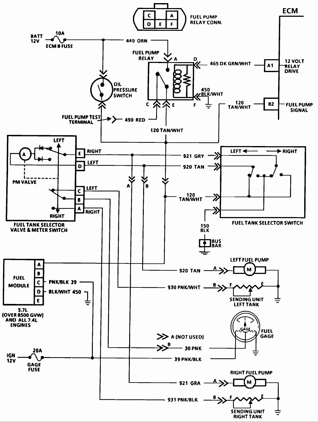 hight resolution of chevy truck fuel pump wiring wiring diagrams wni wiring diagram 1995 k1500 fuel pump relay