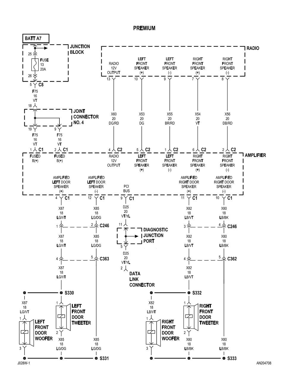 medium resolution of 2006 dodge dakota radio wiring diagram wiring library 1999