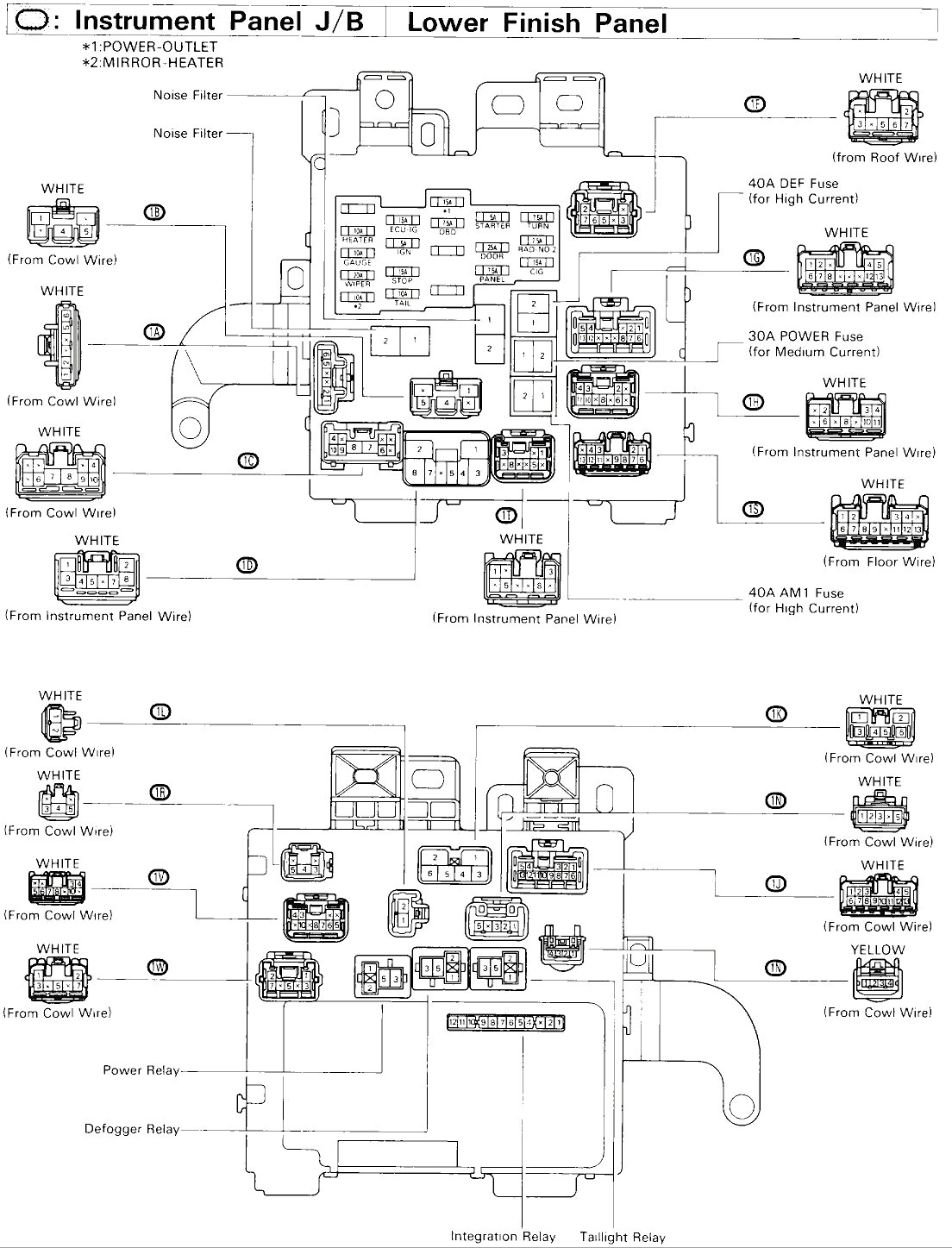 [WRG-7679] 94 Camry Le Wiring Diagram